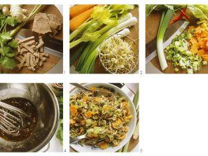 Rindfleisch-Gemüsesalat Rezept