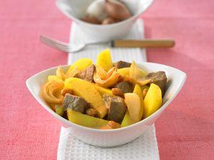 Rindfleisch-Kartoffelcurry Rezept