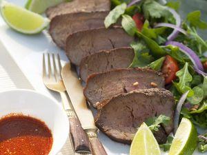 Rindfleisch mit Salat im Thai-Style Rezept