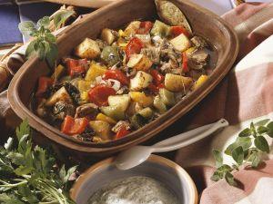 Rindfleisch-Paprika-Topf mit Kartoffeln Rezept