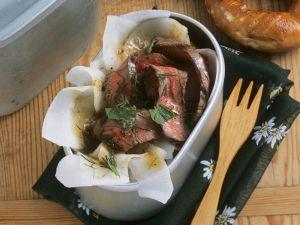 Rindfleisch-Rettich-Salat Rezept