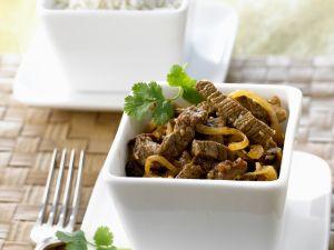 Rindfleischcurry auf indonesische Art Rezept
