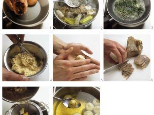 Rindfleischsuppe mit Markklößchen Rezept