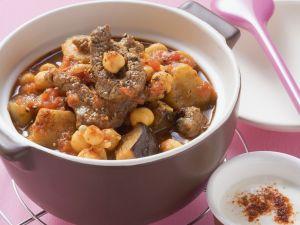 Rindfleischtopf auf mediterrane Art Rezept