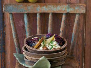 Risotto mit Birnen und Maronen Rezept