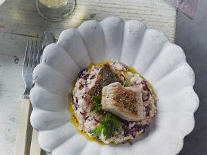 Risotto mit Radicchio und Karpfen Rezept
