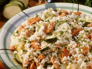 Risotto mit Thunfisch Rezept