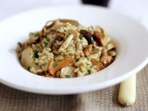 Risotto mit wilden Pilzen Rezept