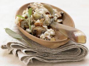 Risotto mit Pilzen – smarter Rezept