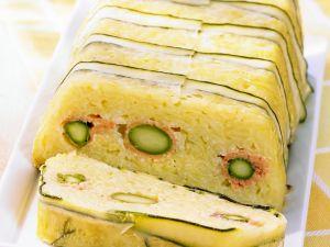 Risotto-Zucchini-Terrine Rezept