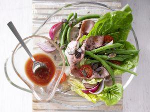 Roastbeef-Bohnen-Salat Rezept