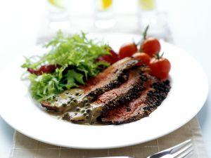 Roastbeef mit Salat Rezept