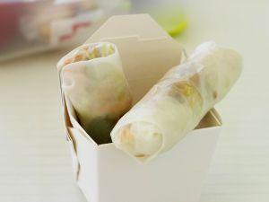 Röllchen aus Reispapier Rezept