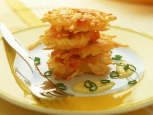 Rösti mit Käse und Kürbis Rezept
