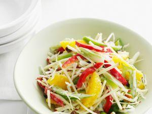 Rohkost-Orangen-Salat Rezept