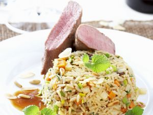 rosa gebratene entenbrust rezept eat smarter. Black Bedroom Furniture Sets. Home Design Ideas