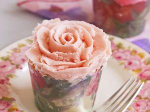 Rosen-Cupcakes Rezept