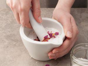 Rosen-Salz Rezept