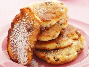 Rosinen-Pancakes Rezept