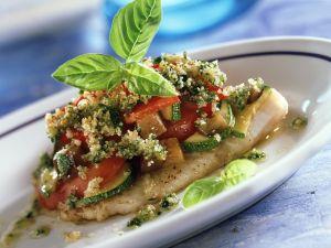 Rotbarschfilet mit Ofengemüse Rezept