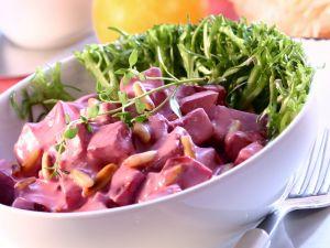 Rote-Bete-Joghurt-Salat Rezept