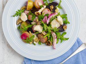 Rote-Bete-Salat mit Walnüssen Rezept