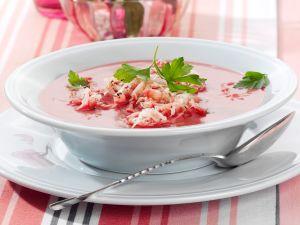 Rote-Bete-Sauerkraut-Suppe Rezept