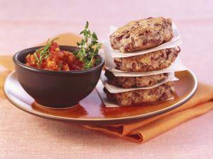 Rote-Bohnen-Bratlinge mit Tomatensalsa Rezept