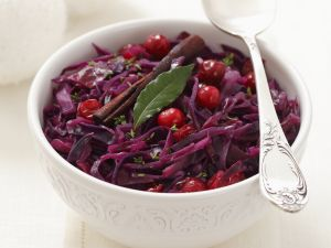 Rotkraut mit Cranberries Rezept