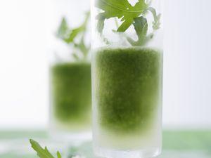 Rucola-Cocktail mit Gin Rezept