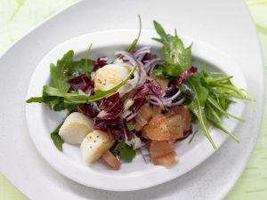 Rucola-Radicchio-Salat Rezept