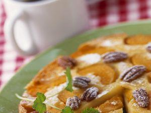 Rührkuchen mit Pfirsichen Rezept