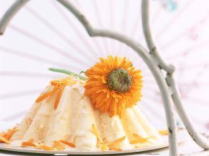 Sahne-Calendula-Parfait Rezept