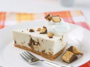 Sahnekuchen mit Erdnussriegeln Rezept