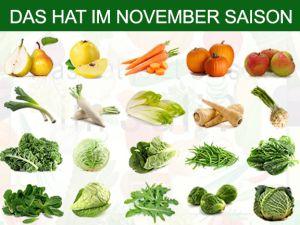 Was hat Saison im November?