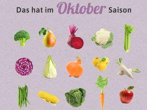 Was hat Saison im Oktober?
