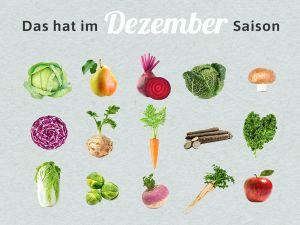 Was hat Saison im Dezember?
