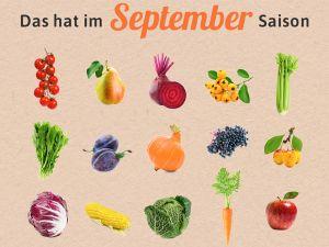 Was hat Saison im September?