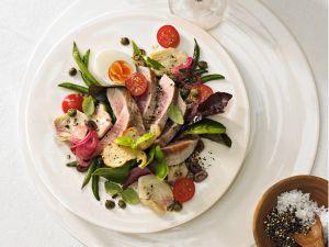 Salade Nicoise mit Thunfisch Rezept