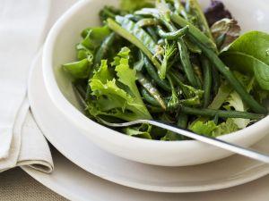 Salat aus grünen Bohnen Rezept