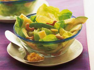 Salat mit Bergkäse Rezept