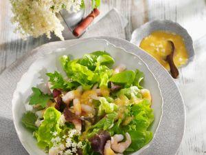 Salat mit Crevetten Rezept