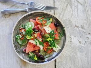 Wassermelonen-Salat Rezepte
