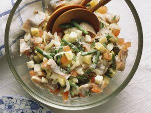 Salat mit Matjeshering Rezept