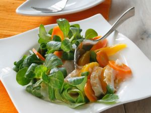 Salat mit Pute und Mango Rezept