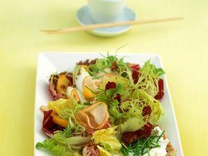Salat mit Putenschinken Rezept