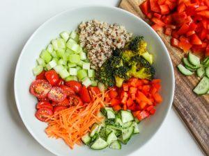 Sechs Salat-Zutaten für die Fettverbrennung
