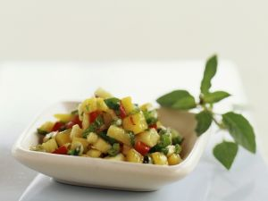 Salsa mit Mango Rezept