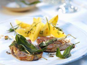Saltimbocca vom Kalb Rezept