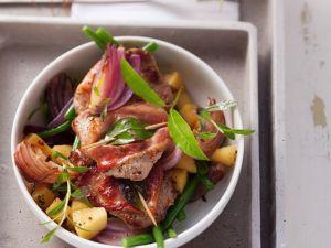 Saltimbocca vom Wildschwein mit frischem Lorbeer Rezept